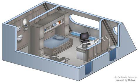 Uss Enterprise Floor Plan by Enterprise Nx 01 Sato S Quarters By Bobye2 On Deviantart