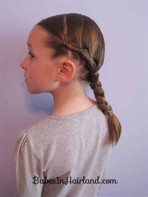 easy triple braided hairstyle babes in hairland puffy braids to a braid babes in hairland