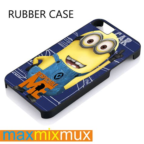 Iphone 5 5s Minion Despicable Me T1910 4 despicable me minion iphone 4 4s 5 5s from maxmixmux