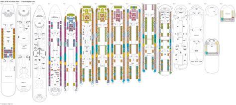 allure of the seas floor plan allure of the seas floor plan allure of the seas deck plans
