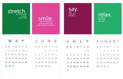 Calendars That Work For You Design Plus You Calendars That Work For You And Your Space