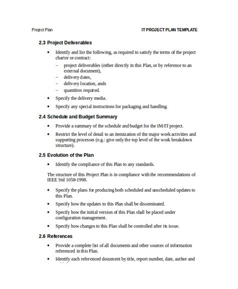 project plan document template free project plan template 12 free word psd pdf documents