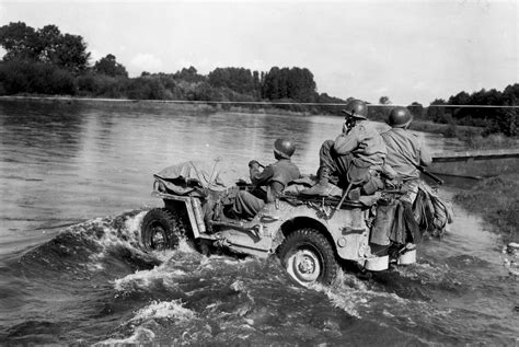 wwii jeep in action studebaker earthborer