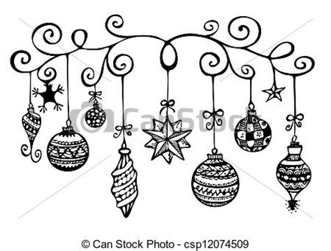 line drawing christmas clip art ornaments sketch ornaments sketch in black and white