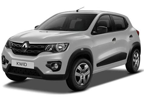 renault kwid silver renault kwid rxe radio option colors cardekho com