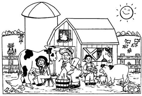 coloring pages farm animals and their babies boerderijdieren kleurplaten animaatjes nl