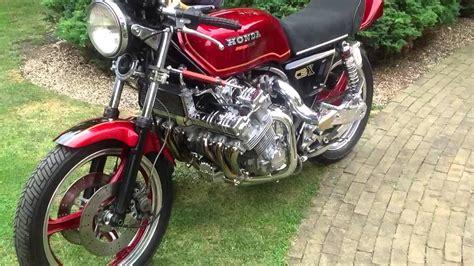 Motorrad Honda Turbo by Honda Cbx 1000 Turbo Six Cylinder Motorcycles