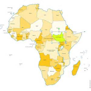 Countries In Africa Map by Maps Of Africa