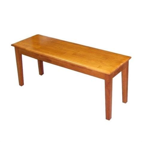shaker bench boraam shaker wood dining bench oak