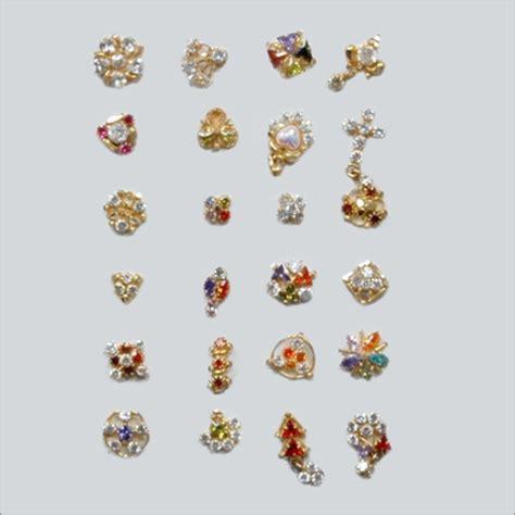 pin designer cubic zirconia nose pins cubic zirconia nose pins