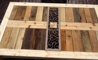 Pallet Patio Table by Ana White Modified Outdoor Pallet Patio Table Diy Projects