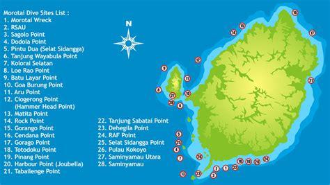 dive di wisata di indonesia diving wisata pulau morotai