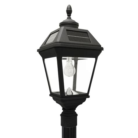 solar light post replacement imperial bulb solar l and single l post with gs