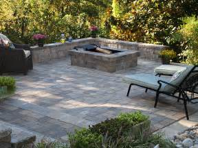 Square Firepit Square Pit Newline Cobble Pavers Pit Tumbled Finish Random