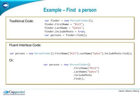 fluent builder pattern java exle the fluent interface pattern