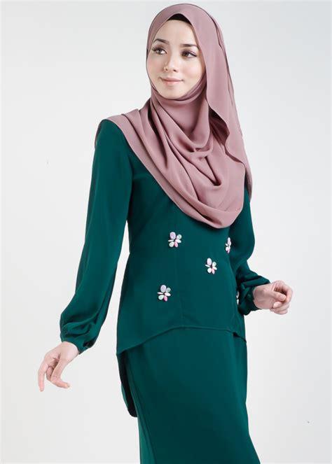 Baju Sedondon Emerald Green baju kurung moden asyura emerald green lovelysuri