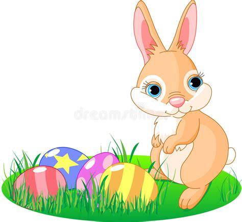 clipart pasqua coniglietto pasqua illustrazione vettoriale illustrazione