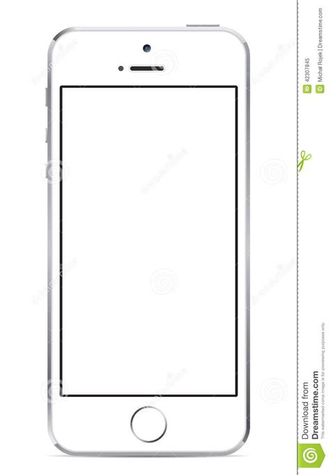 Illustrations For Iphone 5 5s iphone 5s white editorial image image of additional 42307845