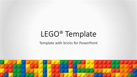 Lego Powerpoint Template Powerpoint Theme Template
