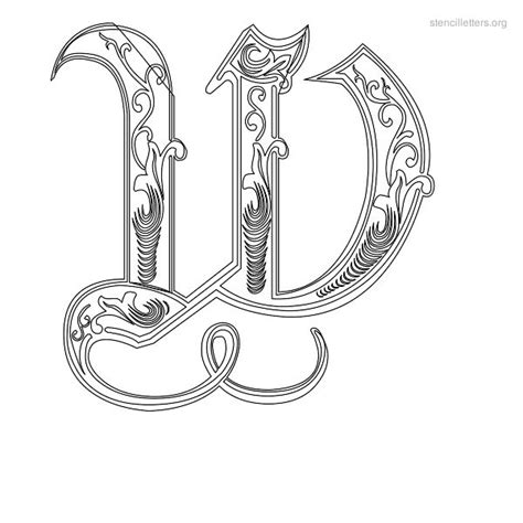 decorative lettering templates gallery templates design