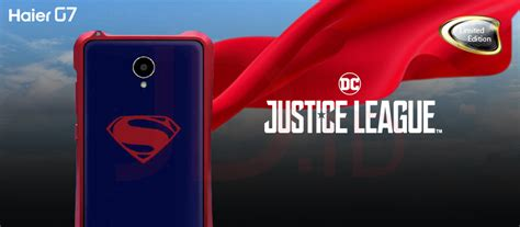 Haier G7 Justice League Superman jual haier g7 justice league limited edition superman jd id