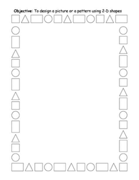 pattern using 2d shapes pattern worksheets 187 symmetrical pattern worksheets ks1