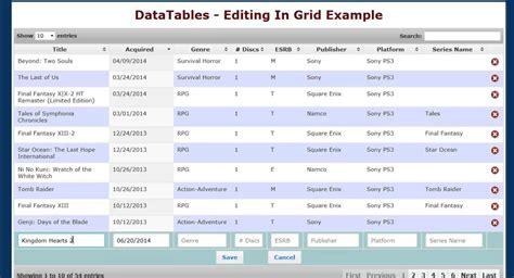 tutorial datatables laravel jquery datatables exle code www napma net