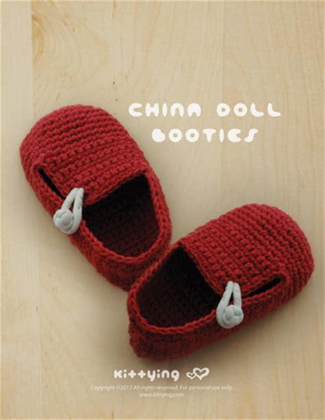 china doll baby china doll baby booties crochet pattern mulu us