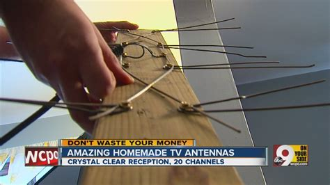 hd channels   homemade antenna youtube