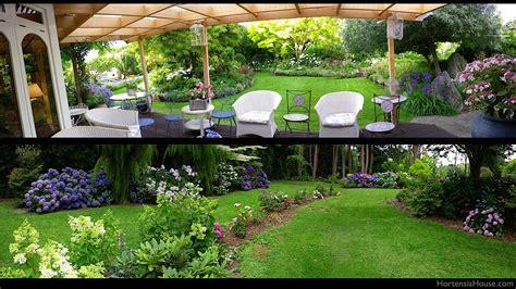 garden hortensia house garden