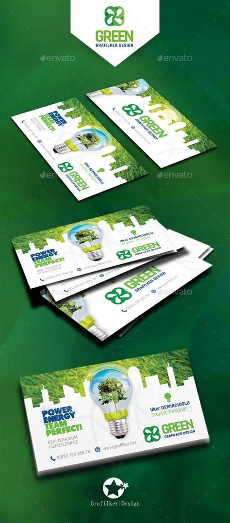 green energy business card template green energy business card templates