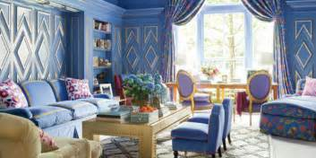 Living Room Blue Gold Best Blue Rooms Blue Decorating Ideas