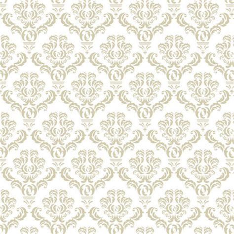 white pattern contact paper beige leaf damask damask chic shelf paper 400