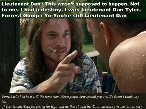 Lieutenant Dan Ice Cream Meme - quotes from forrest gump