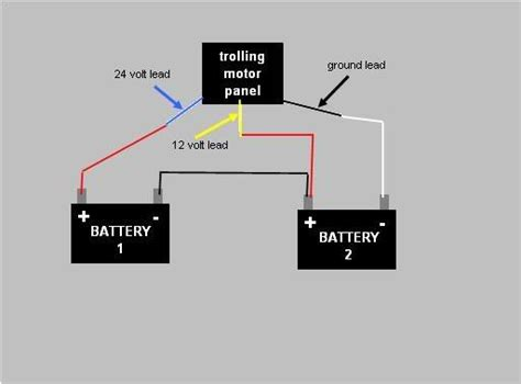 marinco trolling motor 24 volt wiring diagram marinco free engine image for user manual