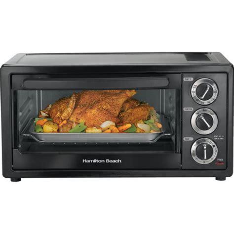 Farberware Toaster Ovens Hamilton Beach 6 Slice Toaster Oven With 12 Quot Pizza