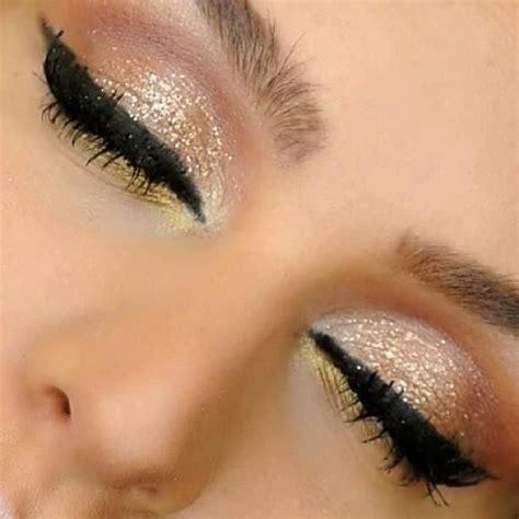 Eyeshadow Golden golden smokey eye makeup tutorial by eldridge fab