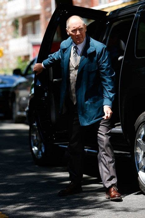 james spader jacket blacklist criminal mastermind raymond reddington james spader on