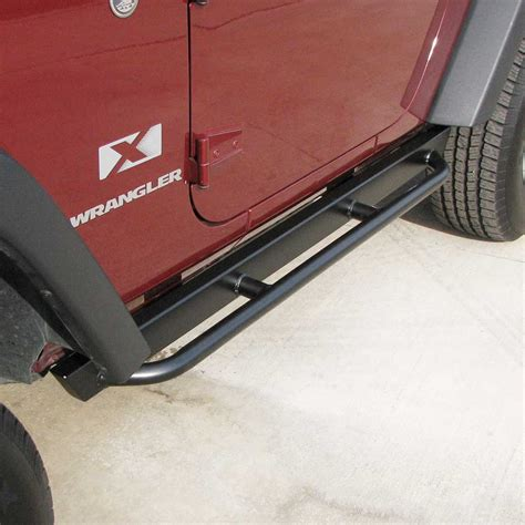 jeep wrangler side rails rock rails jk wrangler 2 door rock rails