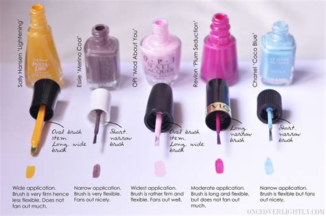 lipstick and lattes sally hansen brush on opi vs chanel vs essie vs sally hansen vs revlon