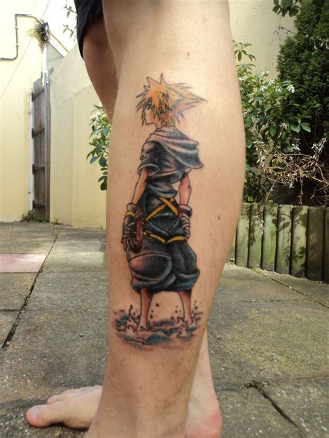 anime tattoos kingdom hearts on kingdom hearts