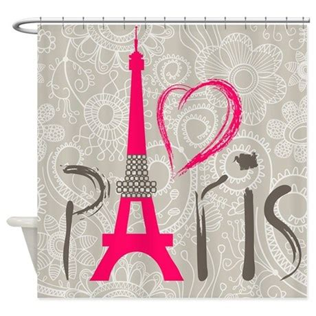 parisian shower curtain paris shower curtain by bestshowercurtains