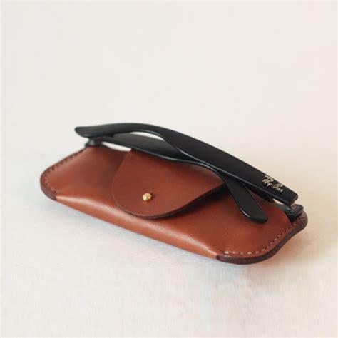 Handmade Eyeglass Cases - handmade glasses leather sunglasses leather