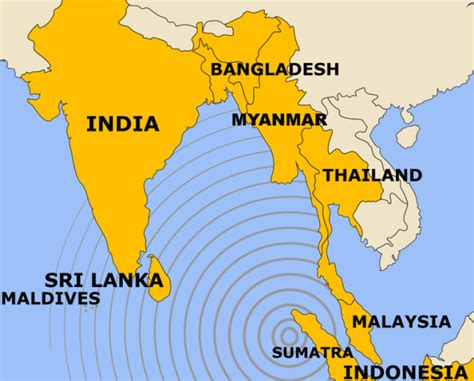 earthquake indian ocean earthquake geography directions