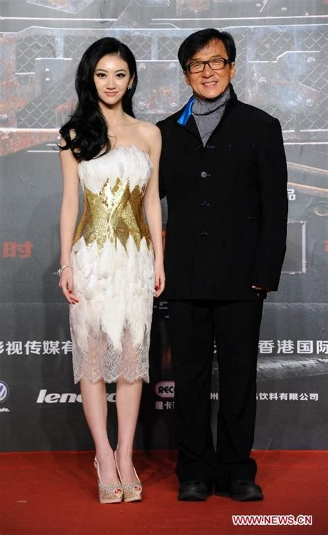 hong kong kid actor hong kong actor jackie chan and chinese actress jing tian