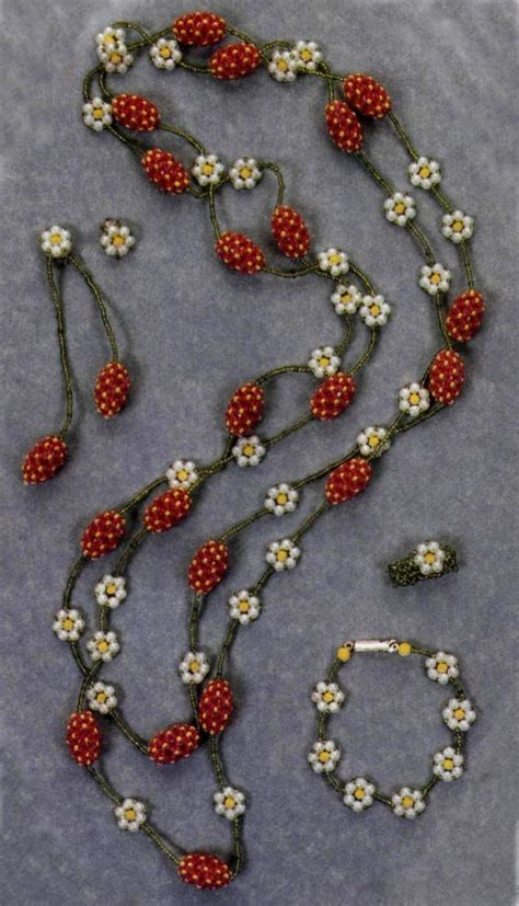 bead translate quot strawberry quot beaded needs translation detail on
