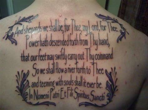 boondock saints tattoo boondock saints prayer