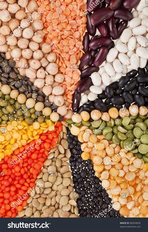 Lentil Split Mix mix different beans legumes peas lentils stock photo 88304830