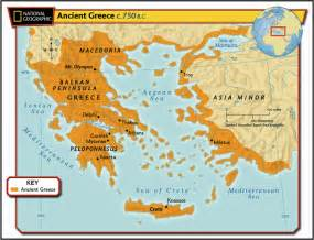 Classical Greece Map by Ancient Greece How Did The Geography Of Greece Affect