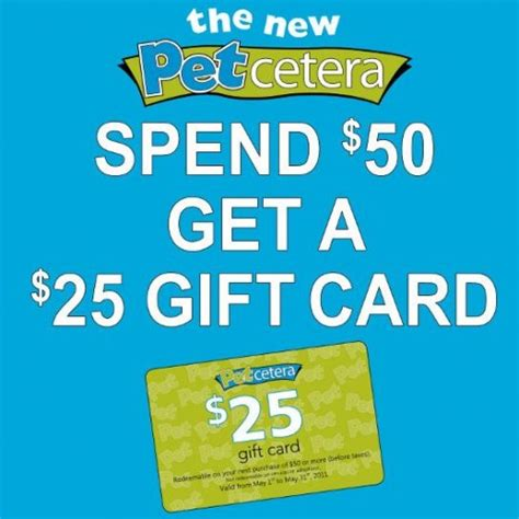 Are Gift Cards Taxable In Canada - petcetera canada spend 50 receive a 25 gift card for your next visit canadian